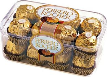 Picture of CC001 - 16 x Ferrero Rocher Chocolates