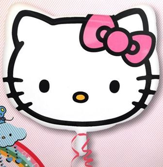 Picture of HF005 - Hello Kitty Helium Foil Balloon