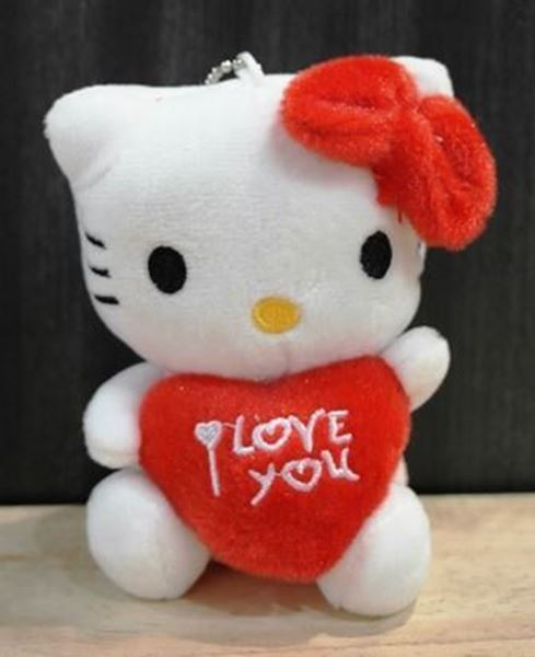 Picture of ST018 - Hello Kitty I LOVE YOU ( RED )