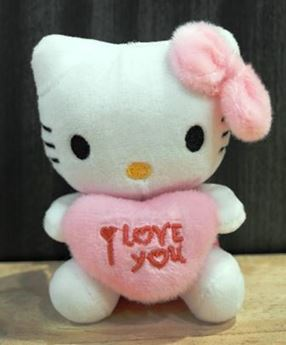 Picture of ST019 - Hello Kitty I LOVE YOU (PINK)