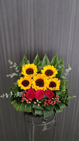 Picture of FB010 - Flower Basket