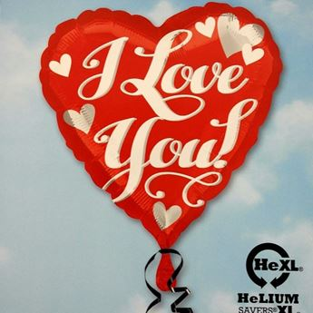 Picture of HF046 - I Love You Helium Foil Balloon