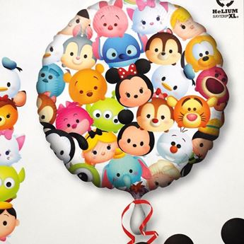 Picture of HF048 - Tsum Tsum Helium Foil Balloon