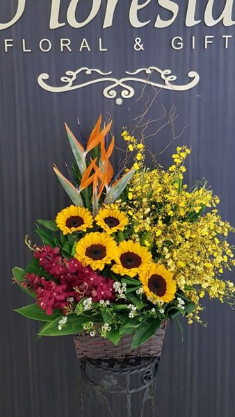 Picture of FB012 - Flower Basket