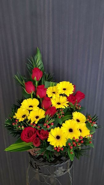 Picture of FB013 - Flower Basket