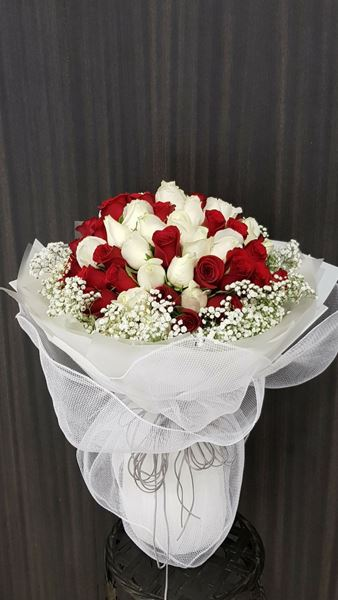 Picture of HB041 - 66 Stalk Roses