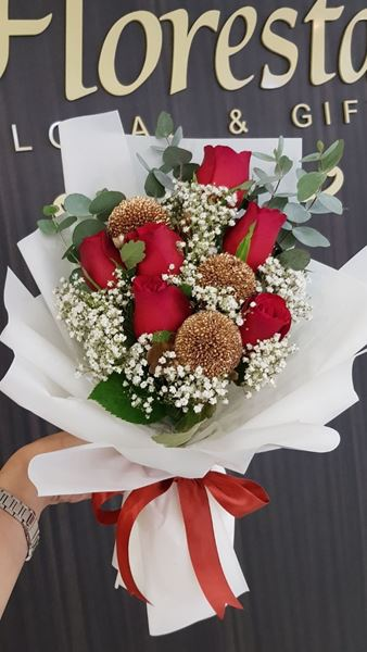 Picture of HB043 - Roses Bouquet